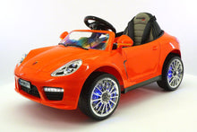 SPORT COUPE KIDS RIDE ON TOY CAR WITH PARENTAL CONTROL | ORANGE
