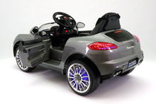 SPORT COUPE KIDS RIDE ON TOY CAR WITH PARENTAL CONTROL | GREY