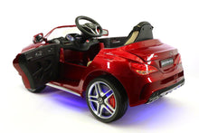 Mercedes Benz CLA45 Kids Ride On Car Toy MP3,USB,12V Bat,Powered Wheels R/C Cherry