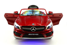 MERCEDES BENZ CLA45 RIDE-ON TOY CAR WITH PARENTAL REMOTE |  CHERRY