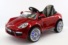 SPORT COUPE KIDS RIDE ON TOY CAR WITH PARENTAL CONTROL | CHERRY