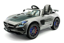 MERCEDES BENZ SLS  RIDE-ON TOY CAR WITH PARENTAL REMOTE MP4 | GREY
