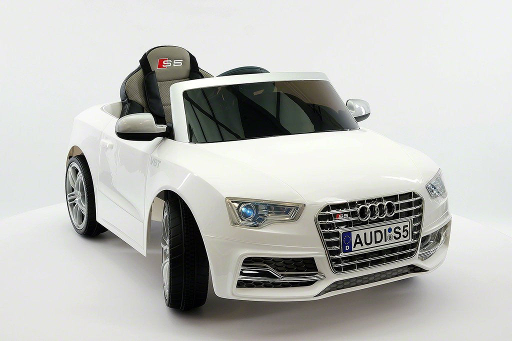 Audi S Sport Licensed Electric Battery Power Ride On Toy Car For - Audi electric toy car