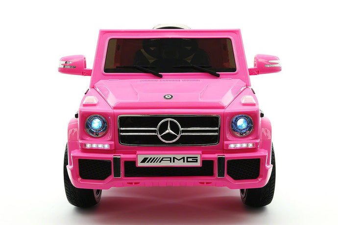 MERCEDES BENZ G65 RIDE-ON TOY CAR WITH PARENTAL REMOTE |  PINK