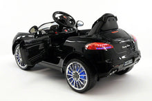 SPORT COUPE KIDS RIDE ON TOY CAR WITH PARENTAL CONTROL | BLACK