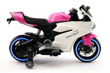 Street Racer 12V Electric Kids Ride-On Motorcycle | Pink