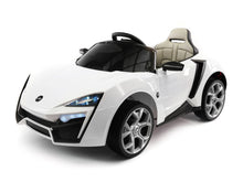 STINGER TYPE-S KIDS 12V RIDE-ON CAR WITH R/C PARENTAL REMOTE | WHITE