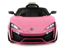 STINGER TYPE-S KIDS 12V RIDE-ON CAR WITH R/C PARENTAL REMOTE | PINK