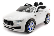 Maserati Levante 12V Kids Ride-On Toy Car With R/C Parental Remote | White