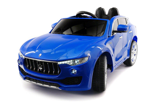 Maserati Levante 12V Kids Ride-On Toy Car With R/C Parental Remote | Blue