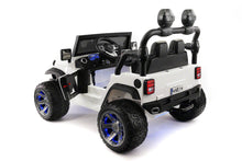 SUV 12V KIDS RIDE-ON CAR TRUCK WITH R/C PARENTAL REMOTE | WHITE