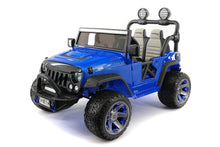 SUV Explorer 12V Kids Ride-On Toy Car Truck With R/C Parental Remote | Blue
