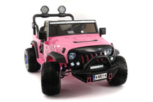 SUV 12V KIDS RIDE-ON CAR TRUCK WITH R/C PARENTAL REMOTE | PINK