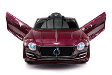 Bentley Exp 12V Kids Ride On Toy Car with R/C Parental Remote | Magenta