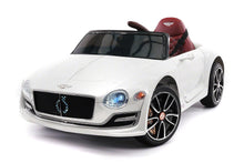 Bentley Exp 12V Kids Ride On Toy Car with R/C Parental Remote | White