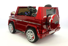 MERCEDES BENZ G65 RIDE-ON TOY CAR WITH PARENTAL REMOTE |  CHERRY