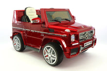 Mercedes Benz G65 AMG 12V Battery Powered Ride On Toy Car with MP3 and R/C Cherry Red