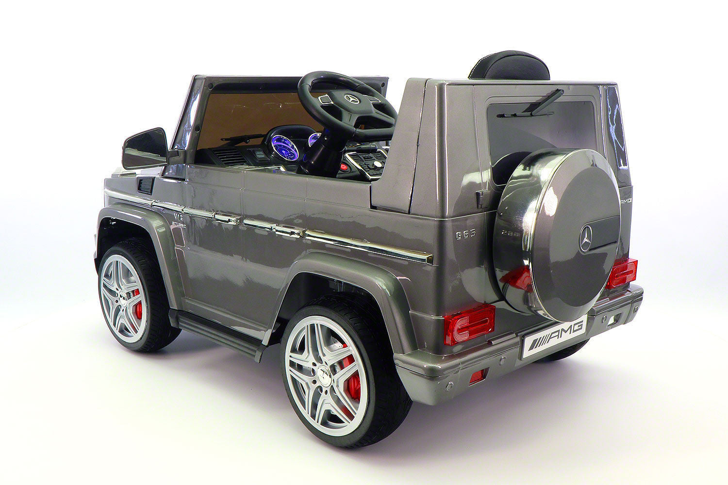 Mercedes benz g65 amg 12v battery powered ride on toy car for Mercedes benz ride on