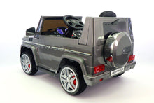 Mercedes Benz G65 AMG 12V Battery Powered Ride On Toy Car with MP3 and R/C Grey