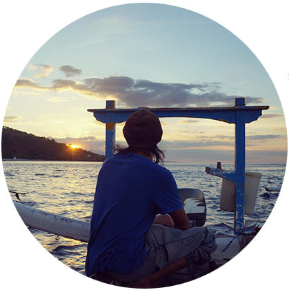 makers travelers bali sunset fishing amed