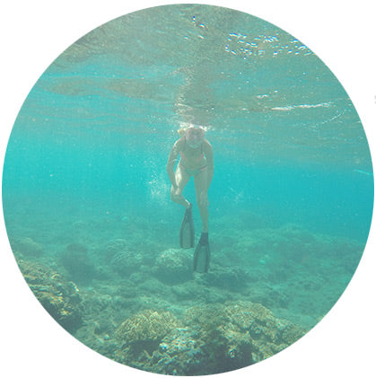 makers travelers bali snorkeling amed corral fish