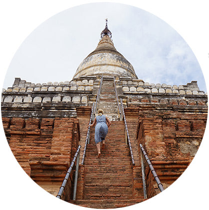 makers travelers myanmar bagan must see temple sunset shwesandaw