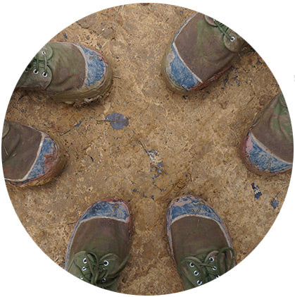 makers travelers myanmar kalaw hike shoe check