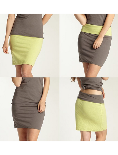 Nomadica - REVERSIBLE 4-WAY SKIRT by Indigenous