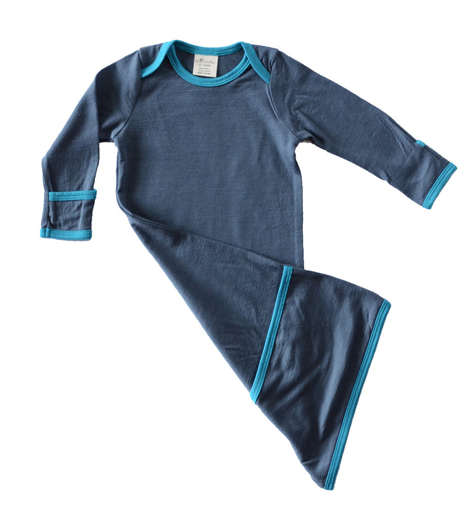 Nomadica - MERINO INFANT SLEEP GOWN by Wee Woollies  - 1