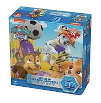 paw patrol 3d puzzle game