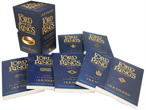 the lord of the rings book collection