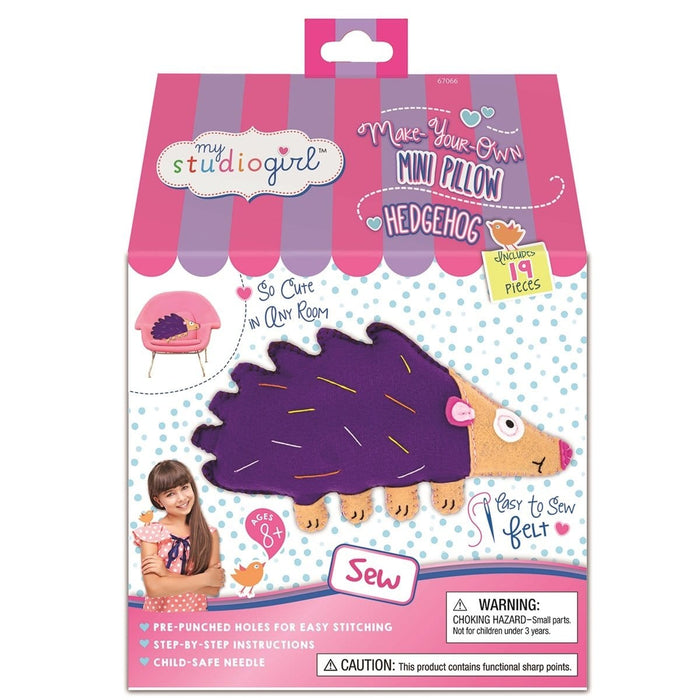 Flatsie Mini Cushion Hedgehog