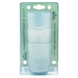 Battery Operated LED Tea Light - 3 pack, [Product Type] - Daves Deals