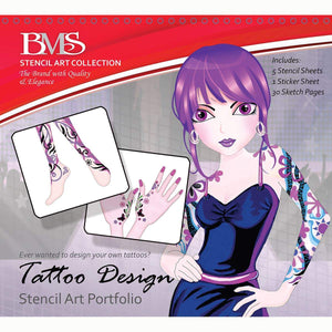 Tattoo Design Sketch Portfolio, [Product Type] - Daves Deals