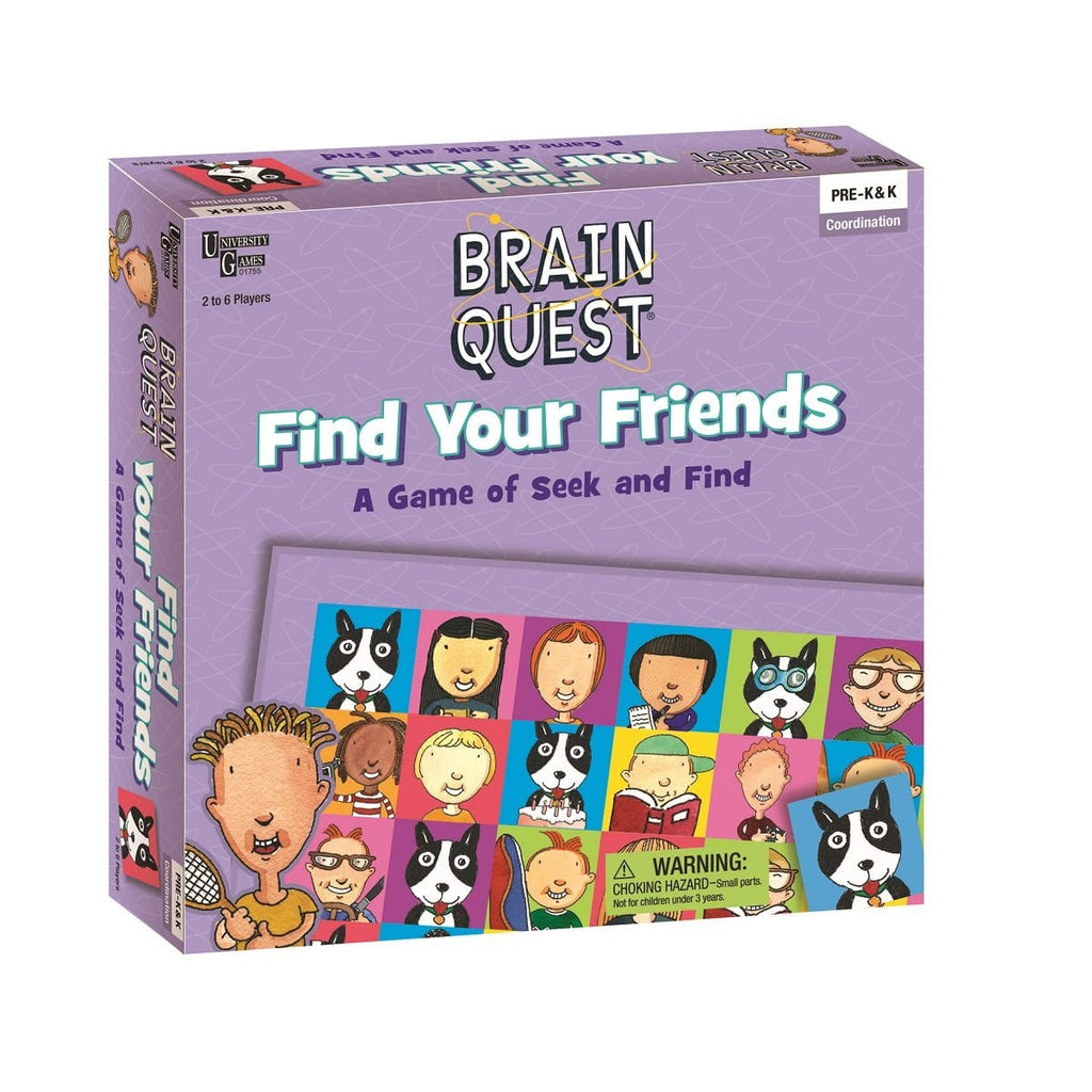 Brain Quest Find Your Friends