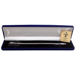 Lys Bleu Tennis Bracelet with Swarovski Elements - Daves Deals