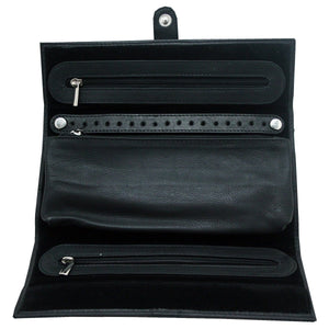 Leather Jewellery Roll - Daves Deals