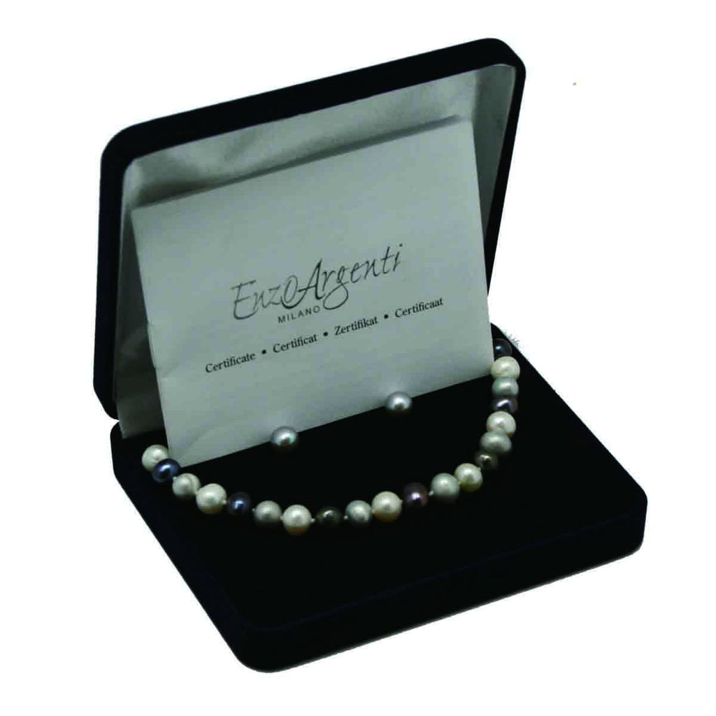 Enzo Ergenti Milano Fresh Water Pearl Set, [Product Type] - Daves Deals
