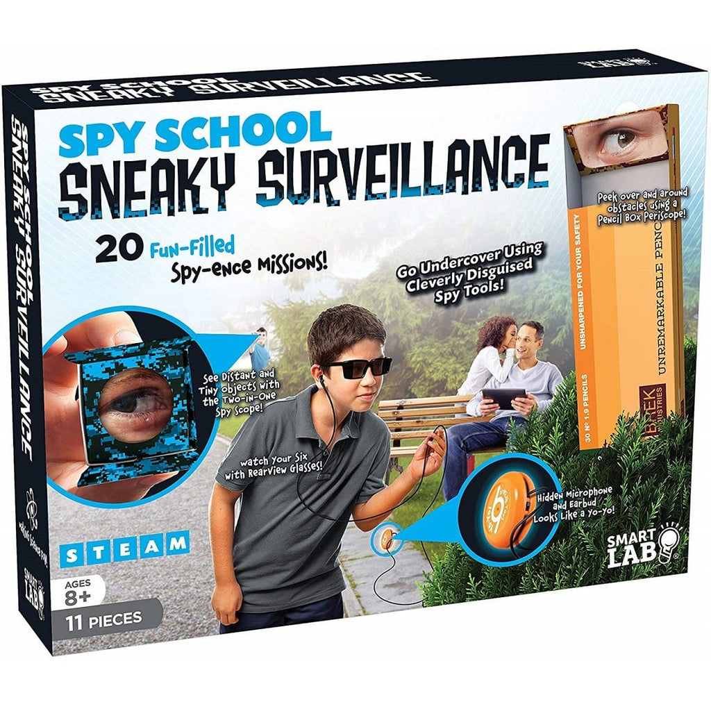 Spy School Sneaky Surveillance