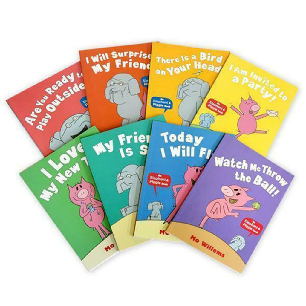 Elephant And Piggie 8 Book Set, [Product Type] - Daves Deals
