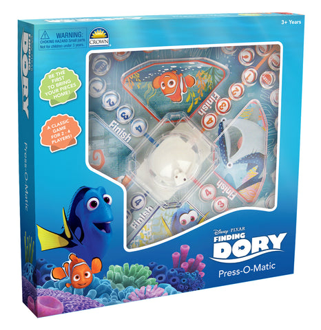 Finding Dory Press-O-Matic Game Pop Up Game - Games - Daves Deals