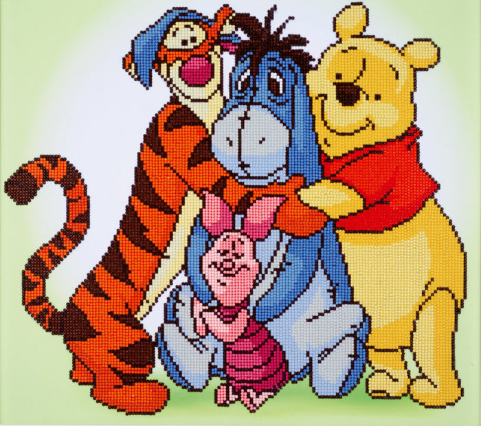 Pooh and Friends by DIAMOND DOTZ