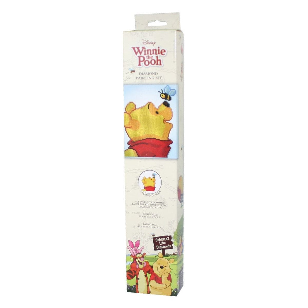 Disney Pooh With Bee by DIAMOND DOTZ, [Product Type] - Daves Deals