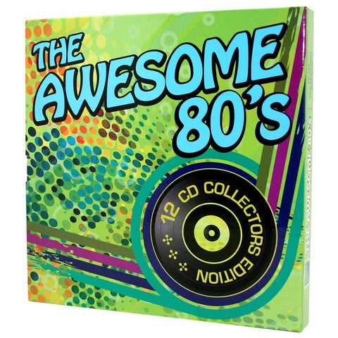 The Awesome 80's 12 CD Collector's Edition - Music - Daves Deals - 1