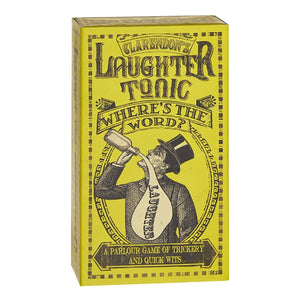 Clarendon's laughter Tonic Where's The Word?