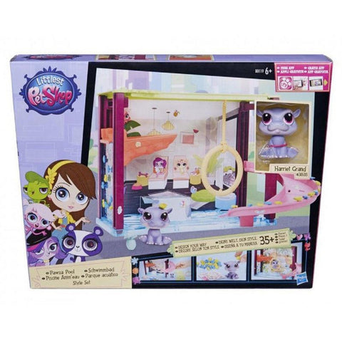 Littlest Pet Shop Scene Style Set – Pawza Pool Party