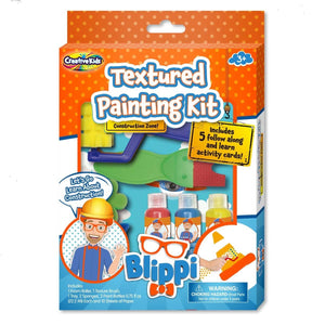 Blippi Textured painting kit, [Product Type] - Daves Deals
