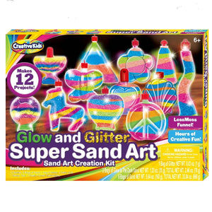 Glow & Glitter Sand Art, [Product Type] - Daves Deals