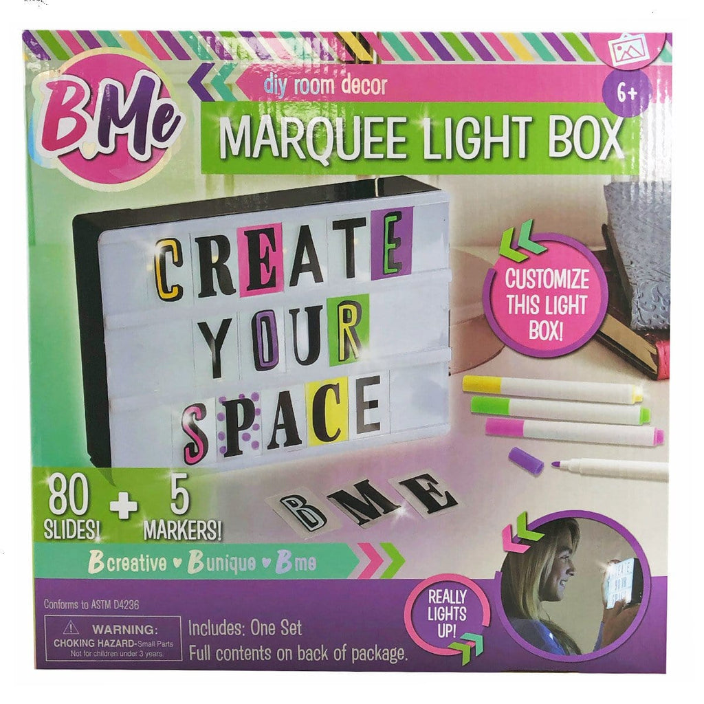 Bme - Light Up Marquee Box - Daves Deals