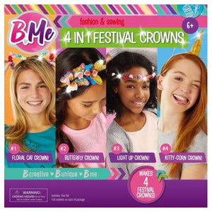 4 in 1 Festival Crowns - Daves Deals